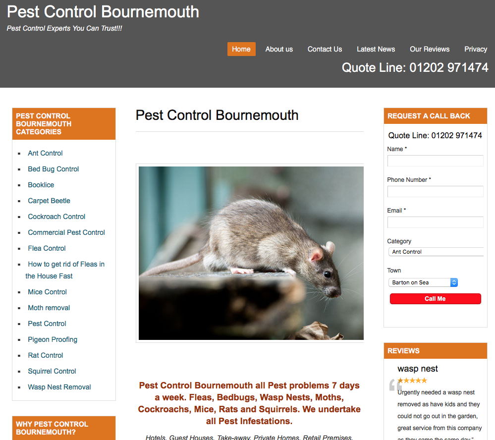 Pest Control Bournemouth