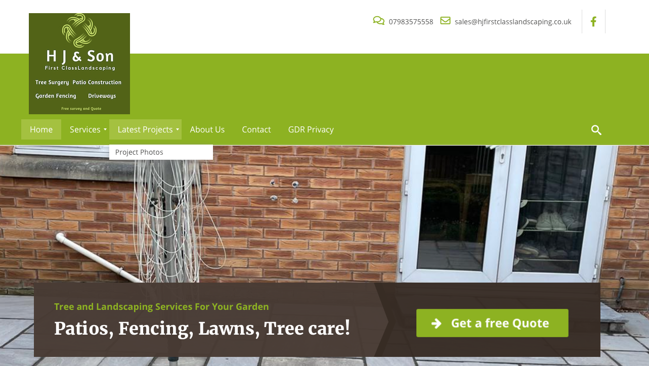 H J Landscaping cardiff